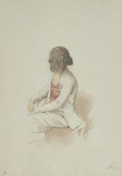 Profile of the Hirsute faced Woman of Ava